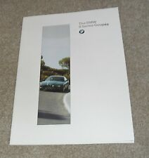 BMW 8 Series Coupe Brochure 1994 - 840 CI - 840CSI