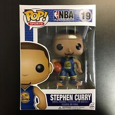 Funko POP NBA Stephen Curry Blue Jersey Away Mint Box
