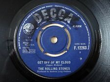 "The Rolling Stones Get Off My Cloud UK 7"" Decca F.12263 1965 VG"