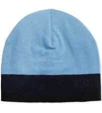 60% off - Hugo Boss Beanie Hat Blue - New with Tags 100% Authentic 1d67fb7498a