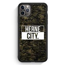 Herne City Camouflage iPhone 11 Pro Max Silikon Hülle Motiv Design Deutschlan...
