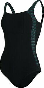 Women's Speedo Sculpture LunaLustre Printed Body Shaping Swimsuit 12/34