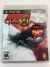 God of War III (Sony Playstation 3, 2010) Ps3 Complete Tested