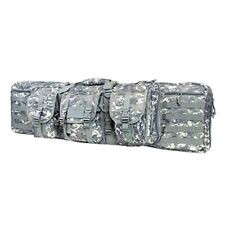 "NcStar Vism Tactical 42"" Padded Double Carbine Rifle Weapon Case Bag Digital"