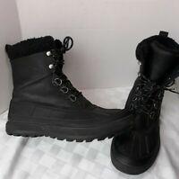 Nike ACG boots Woodside II Triple Black 537347 010 Waterproof Winter Duck US 12