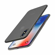 TOZO for iPhone X Case, Ultra Thin Hard Cover [0.35mm] World's Thinnest Prote...