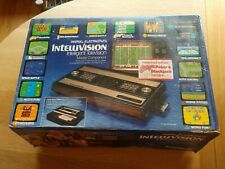 Absolutely Mint Vintage Mattel Intellivision Game Console with Box and 4 games!