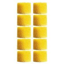 SHURE EAYLF1-100 Yellow Universal Foam Ear sleeves tips SE series, Bulk 100 Pcs