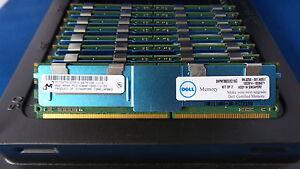 32GB (4x8GB) DDR2 4RX8 PC2-5300F 667MHz Samsung IBM M395T5163QZ4-CE68 43X5061
