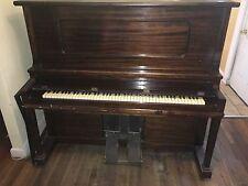 Classic Wooden (dark brown) Upright Piano