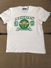 Para Hombre Adidas Camiseta 100% Genuino Tamaño M Mediano