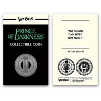 John Carpenter's Prince of Darkness Gold Collector Coin Only 125 Exist New!