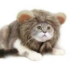 Lion Mane Wig Hat With Ears Cosplay Halloween Christmas Cat Costume Fancy Dress