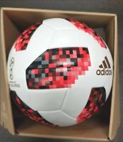 ADIDAS  MATCH BALL TELSTAR MEYTA FIFA WORLD CUP RUSSIA 2018 WITH BOX