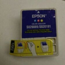 Genuine Epson S020089 Color Ink Cartridge For Epson Stylus Color 400-1520, 600Q