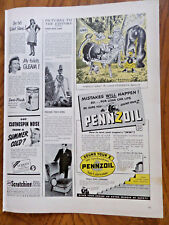 1942 Pennzoil Oil Ad Gorilla Fighter? We wanted Guerrilla fighters!!
