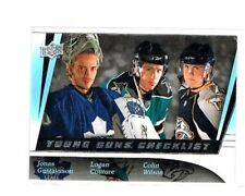 Couture / Wilson / Gustavsson 2009-10 UD Upper Deck Young Guns Checklist #500