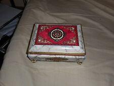 Vintage Metal Klann Jewelry Box Made in Western Germany