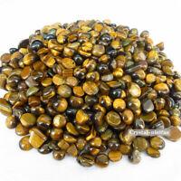 1/2lb Natural Bulk Gold Tiger Eye Tumbled Stones Crystals Reiki Healing Gemstone