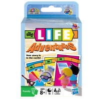 The Game of Life Adventures Card Game Hasbro Gaming 2-4 Players Ages 8+