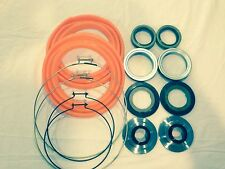 Rockwell 2.5 Ton Front Axle Orange Boot and Seal Kit M35 M109 Military Mud Truck
