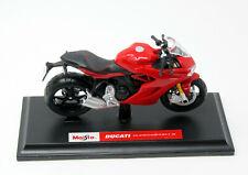 Modelo de motocicleta 1:18 ducati supersport s maisto