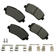 Disc Brake Pad Set-ProACT Ultra Premium Ceramic Pads Front Akebono ACT1623