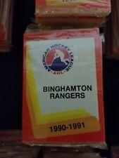 1990-91 Pro Cards AHL BINGHAMTON RANGERS Hockey Team Set Sealed
