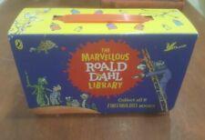 The Marvellous Roald Dahl Library Set Fantabulous Books Carry Along Case