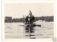 Echtfoto, Berlin Zehlendorf, Tretboot auf dem Stölpchensee, 1950