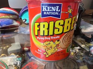 Wham-o Frisbee KenL Ration flying dog treats 10 treats 2 ounces salesman sample