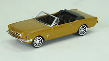Busch  1/87 HO 1964 Ford Mustang Convertible (Gold Brown Metallic) 47511