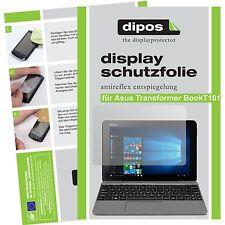 2x Asus Transformer Book T101 Schutzfolie matt Displayschutzfolie Folie dipos
