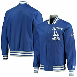 Los Angeles Dodgers Starter The Jet III Full-Snap Jacket - Royal
