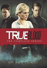 #True Blood The Complete Series Seasons 1,2,3,4,5,6,7 DVD Disc Box Set NEWSealed