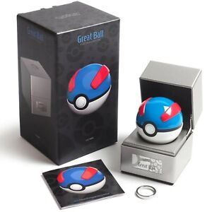 🔥Pokémon ~ Replica Great Ball ~ Die-Cast Metal  ~ Electronic Poke Ball 🔥