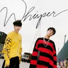 VIXX LR - 2nd Mini Album, WHISPER: CD+PHOTOBOOK+3 PHOTOCARDS+STICKER, SEALED
