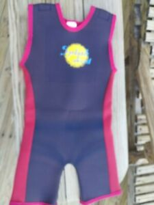 Splash About Child's Neoprene Shorty Wetsuit 4 to 6 years