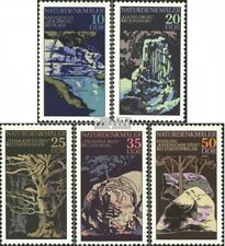 DDR 2203-2207 (complete.issue) unmounted mint / never hinged 1977 Natural Monume