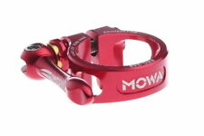 MOWA BSC Road Mountain Cyclocross Cycling Bike Seatpost QR Clamp 31.8mm Red