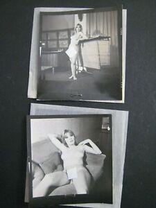 "2.25"" Negatives Busty  Model Vintage Pinup Photo Nude, Harrison Marks..# 009"