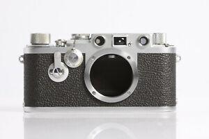 Leica IIIF von 1955 Gehäuse Body im auffällig schönen und sauberen Zustand