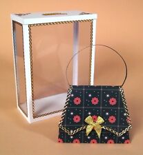 A4 Card Making Templates for 3D Handbag & Display Box by Card Carousel