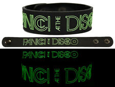 PANIC AT THE DISCO Rubber Bracelet Wristband Glows in the Dark