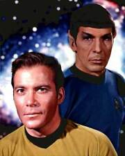 Star Trek TOS KIRK & SPOCK 1967 TV Guide Cover Photo Window Cling Decal Sticker