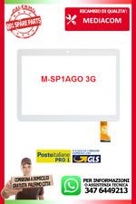 """M-SP1AGO 3G SMARTPAD GO 9.6"""" VETRO E TOUCH SCREEN BIANCO M-SP1AGO3G MEDIACOM"""