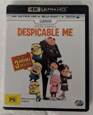 DESPICABLE ME - 4K ULTRA HD + Blu-ray Region B oz seller DVD