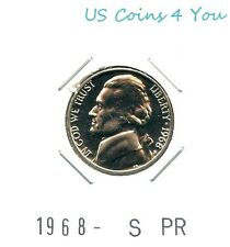 *BU* 1968-S PROOF JEFFERSON NICKEL *BEAUTIFUL* L@@K