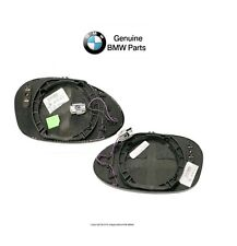BMW E85 Z4 2003-2008 Set of Left and Right Heated Door Mirror Glasses Genuine