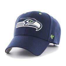 87a5d97610f35 Seattle Seahawks  47 Brand Navy Blue Adjustable Audible 47 MVP Hat